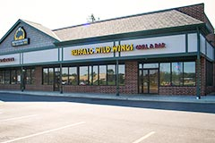 Exterior of Buffalo Wild Wings in Mentor, Ohio by Paramount Construction and Contracting
