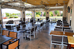 Design and patio construction for restaurants
